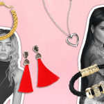 What jewellery to wear with high neck dress