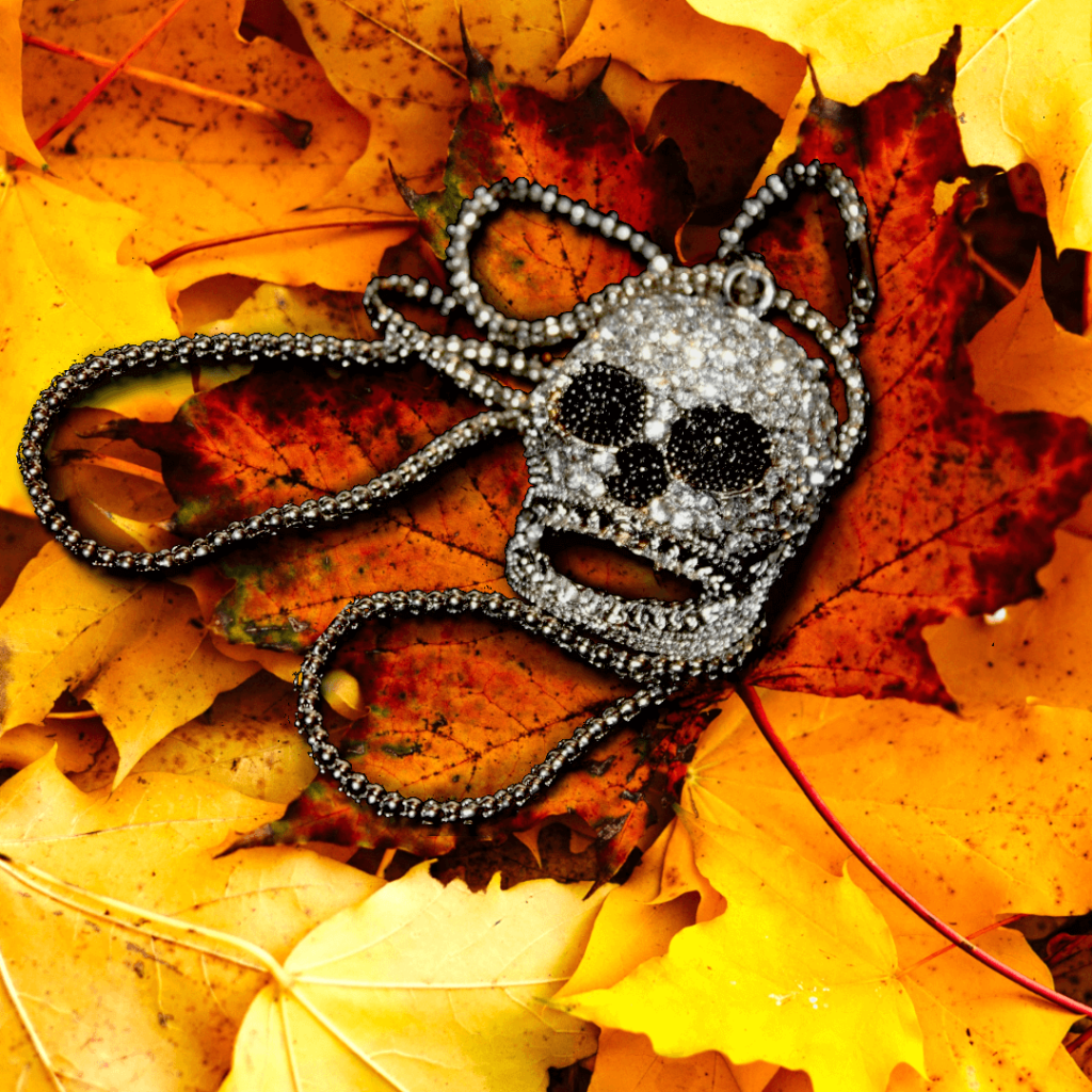 Autumn Jewellery Trends - Punk Rock Skull necklace